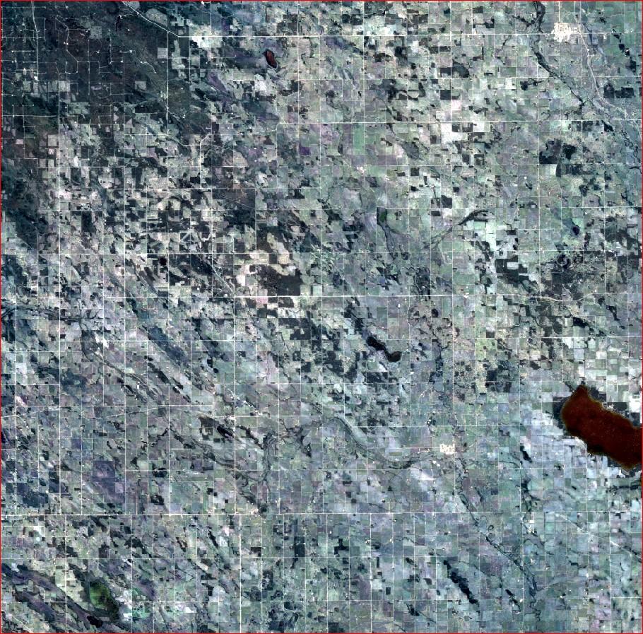 TimeScan Mean Reflectance Composite Images (MeanRefComp) (BEAVER HILLS)